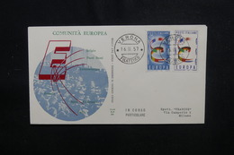 ITALIE - Enveloppe FDC En 1957 - Europa - L 49956 - 6. 1946-.. Republic