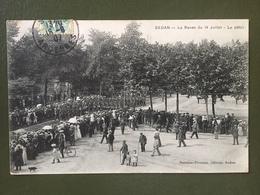 SEDAN-La Revue Du 14 Juillet 1911- Le Défilé - Sedan