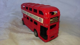 Bus Anglais Taille Crayon Vintage échelle 1/43 ème, Made In China, Best Of British - Jouets Anciens