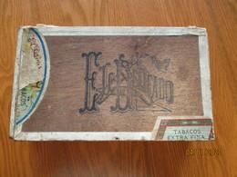 VINTAGE CIGAR BOX L.M. & CA, HABANA CUBA LOPEZ MIRANDA EL DELICADO , 0 - Empty Tobacco Boxes