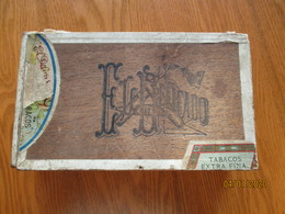 VINTAGE CIGAR BOX L.M. & CA, HABANA CUBA LOPEZ MIRANDA EL DELICADO , 0 - Contenitori Di Tabacco (vuoti)