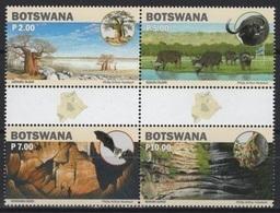 Botswana (2019) - Set -  /  Tourism - Wonders - Grottes - Caves - Bats - Trees - Waterfalls - Heritage - Geologia