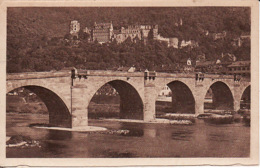 2602178Heidelberg, Die Alte Neckarbrucke 1922 (links Einen Kleinen Riss) - Heidelberg