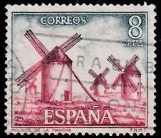 SPAIN - Scott #1760 La Mancha Windmills (*) / Used Stamp - Mühlen