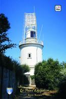 Set 6 Cartes Postales, Phares, Lighthouses Of Europe, Saint-Nazaire, Le Phare De La Pointe D'Aiguillon - Leuchttürme