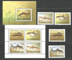 Kyrgyzstan 1994 Year, Mint Stamps MNH (**)  Fish - Kirghizstan