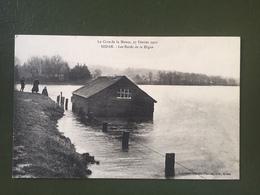 La Crue De La Meuse, 27 Février 1910. SEDAN-Les Bords De La Digue - Sedan
