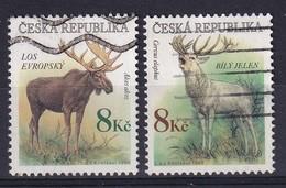 Czech Republic 1998, Animals Minr 180-181 Vfu - Tsjechië