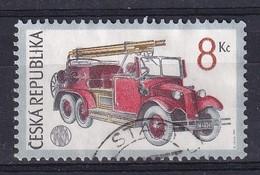 Czech Republic 1997, Firetruck Minr 160 Vfu - Gebraucht