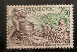 LUXEMBOURG  N° 552  OBLITERE - Usati