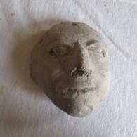 Pre-Colombian Terracotta Head (700 B.C - 1200 A.D) - Archéologie