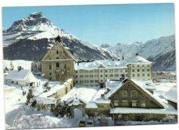 Kirche Und Kloster Engelberg Mit Hahnen - OW Obwald