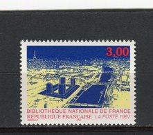 FRANCE - Y&T N° 3041** - MNH - Bibliothèque Nationale De France - France