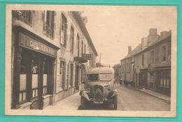 15 - Cantal - Ally - Carte Peu Courante : Avenue De Pléaux - Cafe Restaurant - Camion Citroen - Frankrijk