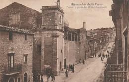 Cartolina - Alessandria Della Rocca - Duomo E Parte Del Corso Nazionale - Agrigento