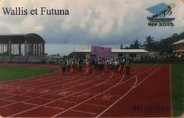 WALLIS-et-FUTUNA - Parcours Flamme Olympique - Wallis En Futuna