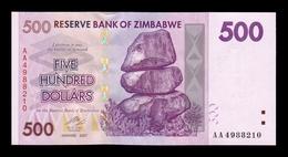 Zimbabwe 500 Dollars 2007 Pick 70 AA SC UNC - Zimbabwe