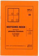 Bewertung Gebrauchter Viererblocks 1900 - 1923 - INFLA Bücherei Nr. 33 Von Reinhardt, Smidt + Zenker - Deutschland