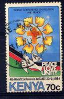 KENYA  - 301° - COLOMBE DE LA PAIX - Kenya (1963-...)