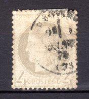 CERES N°52   Oblitéré Coté 55 - 1871-1875 Ceres