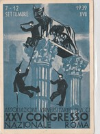 Cartolina - Associazioni Universitarie Di A.C.I XXV Congresso Nazionale - Roma - Unclassified