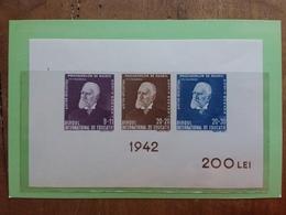 ROMANIA 1942  - BF N. 9 Nuovo ** + Spese Postali - Blocks & Sheetlets