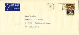 Australia Cover Sent Air Mail To Germany 20-4-1990 Single Franked - 1990-99 Elizabeth II