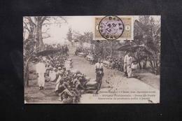 SÉNÉGAL - Carte Postale - Dans Un Poste - Caravane De Porteurs Prête à Partir - L 49987 - Sénégal