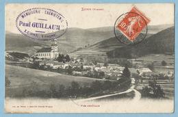 TH0387  CPA   LUSSE   (Vosges) VUE GENERALE  -  Cachet MENUISERIE EBENISTERIE Paul GUILLAUME  +++++ - Provencheres Sur Fave