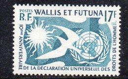 APR460 - WALLIS FUTUNA 1958 , Diritti Umani ***  MNH  (2380A) - Wallis E Futuna