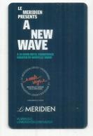 PARIS.Le Méridien Etoile In Paris.Nouvelle Vague, CARD - Hotelkarten