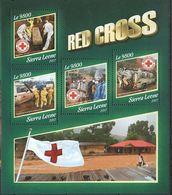 Sierra Leone 2017 Red Cross Croix Rouge MNH - Nobelprijs