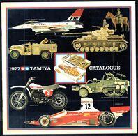 "Catalogue De Modélisme ""TAMIYA"" - Année 1977 - GB. - Littérature & DVD"