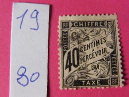 Tax No 19 - 1859-1955 Mint/hinged