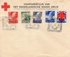17 IX 1927 Rode Kruiszegels Met Dierentuin-stempel Op Niet Verzonden Roode Kruis-envelop - 1891-1948 (Wilhelmine)