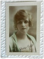 CPA  Femme Actrice  GLADYS COOPER  Fac Similé Autographe - Artistes