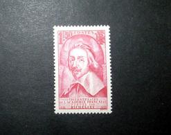 FRANCE 1935 N°305 * (RICHELIEU. TRICENTENAIRE DE L'ACADÉMIE FRANÇAISE. 1F50 ROSE) - Unused Stamps