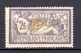 N°122....CHARNIERE TRES LEGERE ...TIMBRE RARE.......GOMME ORIGINALE.....coté 950 Euros - 1900-27 Merson