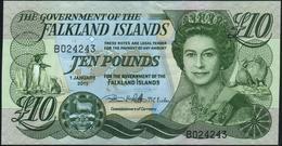 FALKLAND ISLANDS {Malvinas} - 10 Pounds 01.01.2011 UNC P.18 - Falkland Islands