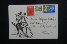 ALGÉRIE - Enveloppe De Hassi Messaoud Pour La France En 1978, Affranchissement Plaisant - L 50000 - Algerije (1962-...)