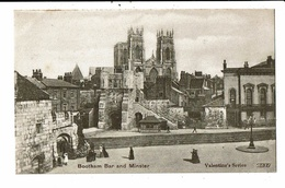 CPA-Carte Postale Royaume Uni-Bootham -   Bar And Minster  VM11060 - York