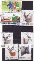 Afrique Du Sud,SOUTH AFRICA 1995 + 1998, Rugby + Antilope, Obliteres - Sud Africa (1961-...)