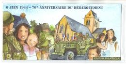 Bloc Souvenir Neuf 6 Juin 1944 - 70 E Anniversaire Du Débarquement (4863) BS 93 - Foglietti Commemorativi