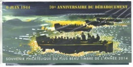 6 Juin 1944 70e Anniversaire Du Débarquement ,  Bloc Souvenir Neuf  BS 114 - Blocs Souvenir
