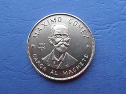 CUBA 1 PESO 1977. КМ #188. MAXIMO GOMEZ - Cuba