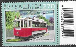 AUSTRIA, 2019, MNH,  TRAMS,1v - Trenes