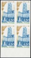FRANCE Poste ** - 3032, Bloc De 4 Non Dentelé, Bdf: 4.50f. Lycée Henri IV - Cote: 80 - Non Dentelés