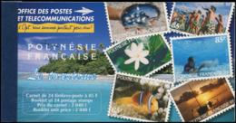 POLYNESIE Carnets ** - Maury 4, Carnet Tourisme 1997, 2040f - Cote: 425 - Polynésie Française