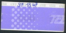 Ticket - Billet Ou Titre De Transport Métro-Bus - LYON - TCL - Mensuel JUIN - Autobus