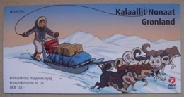Grönland  MH    Europa  Cept   Postfahrzeuge     2013 ** - Europa-CEPT
